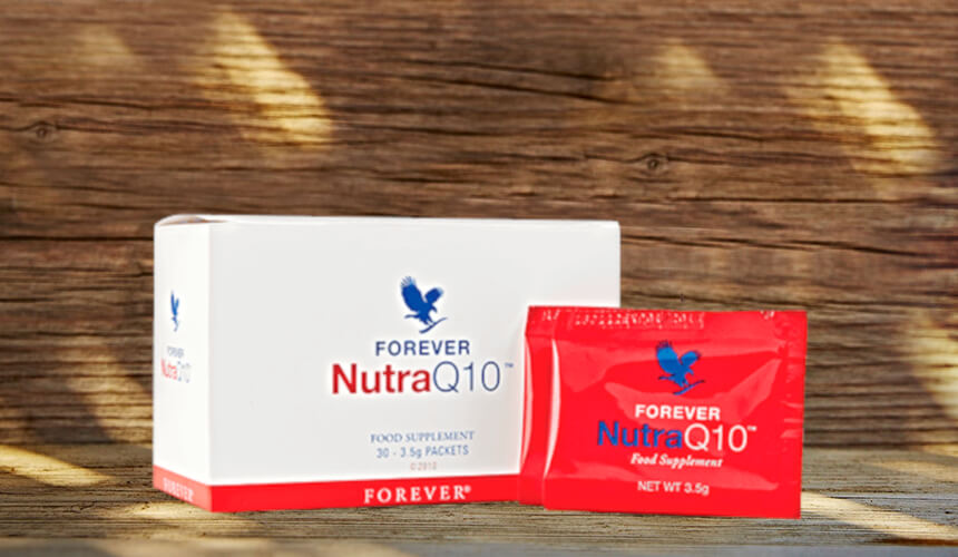 Complement Alimentaire Nutra Q10 - Gel Aloe Vera